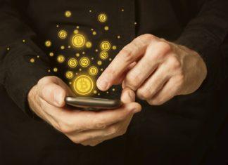 Мобильный телефон с криптовалютой